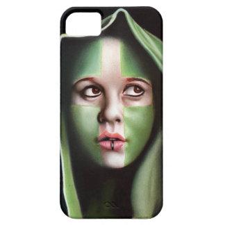 Crusader girl iPhone SE/5/5s case