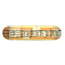 Crusader Horseman Skateboard Deck