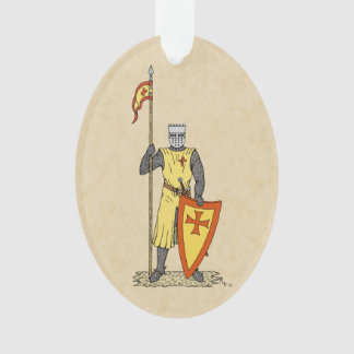 Crusader Knight, Early 13th Century Ornament
