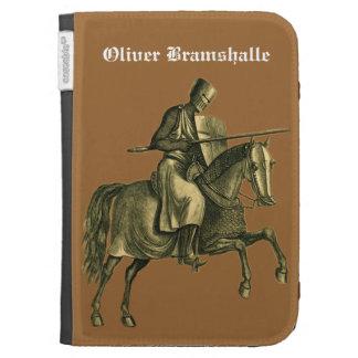 Crusader Knight on Horseback Kindle Cover