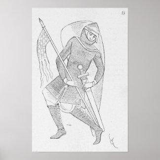 Crusader Knight Poster