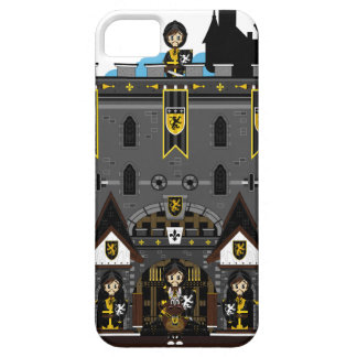 Crusader Knights and Castle iphone Case