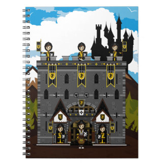Crusader Knights and Castle Notebook