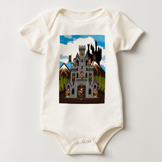 Crusader Knights and Castle T-Shirt
