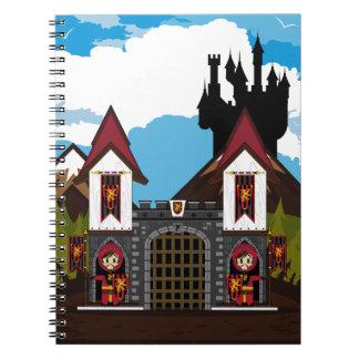 Crusader Knights at Castle Notebook