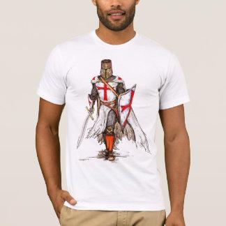 crusader knights of medieval england tshirt