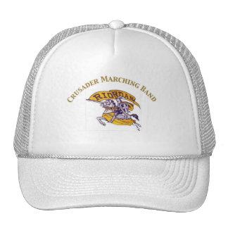 Crusader Marching Band Hat