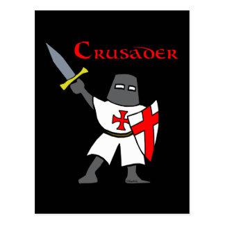 Crusader Postcard