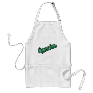 Crusaders in Green Adult Apron