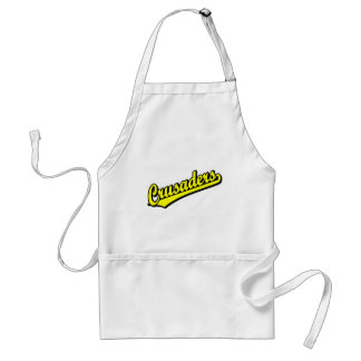 Crusaders in Yellow Adult Apron