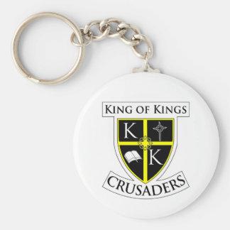 Crusaders Keychain White