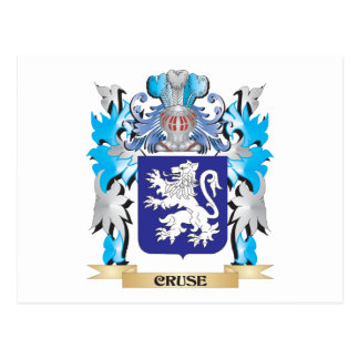 Cruse Coat of Arms - Family Crest Postcards
