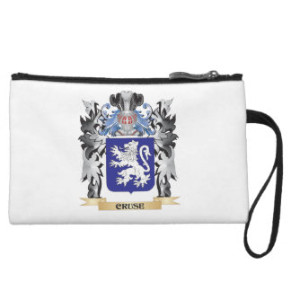 Cruse Coat of Arms - Family Crest Wristlet Clutch