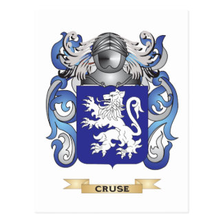 Cruse Coat of Arms Postcards