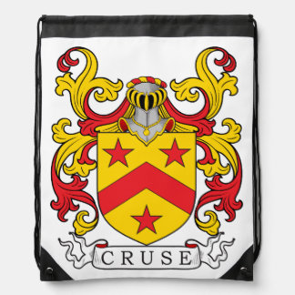 Cruse Family Crest Cinch Bag