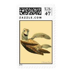 Medium Stamp 2.1' x 1.3' with Crush of Finding Nemo design