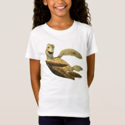 Girls' Fine Jersey T-Shirt with Crush of Finding Nemo design