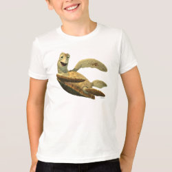 Kids' American Apparel Fine Jersey T-Shirt with Crush of Finding Nemo design