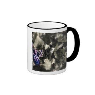 Crush at Tefft Cellars main vineyard Ringer Coffee Mug