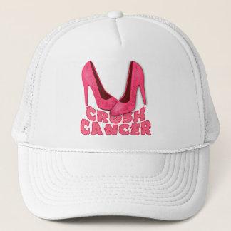 Crush Cancer with Stilettos Trucker Hat