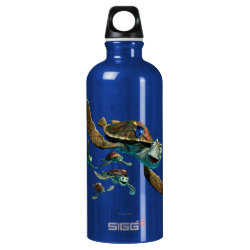 SIGG Traveller Water Bottle (0.6L) with Crush and Dory and Marin of Finding Nemo in the EAC design