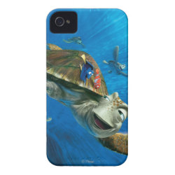 Case-Mate iPhone 4 Barely There Universal Case with Crush and Dory and Marin of Finding Nemo in the EAC design