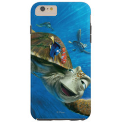Case-Mate Barely There iPhone 6 Plus Case with Crush and Dory and Marin of Finding Nemo in the EAC design