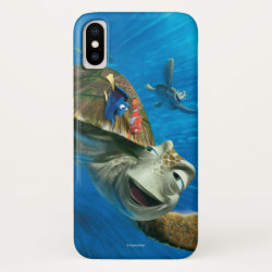 Case-Mate Barely There iPhone X Case with Crush and Dory and Marin of Finding Nemo in the EAC design