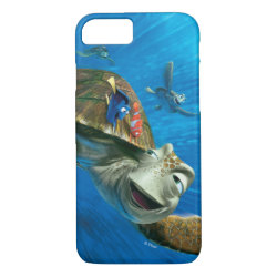 Case-Mate Barely There iPhone 7 Case with Crush and Dory and Marin of Finding Nemo in the EAC design