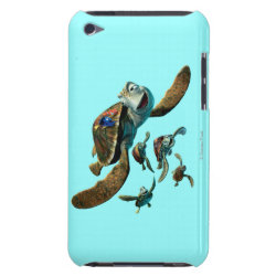 Case-Mate iPod Touch Barely There Case with Crush and Dory and Marin of Finding Nemo in the EAC design