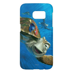 Case-Mate Barely There Samsung Galaxy S7 Case with Crush and Dory and Marin of Finding Nemo in the EAC design