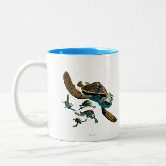 Crush & Friends Two-Tone Coffee Mug