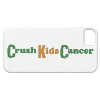Crush Kids' Cancer iPhone5 Case