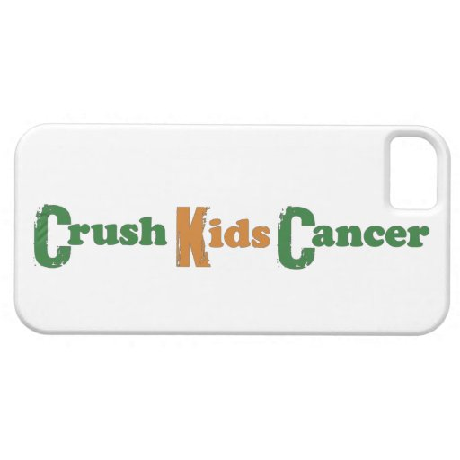 Crush Kids' Cancer iPhone5 Case iPhone 5 Covers