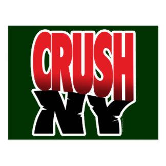 Crush NY... Postcard