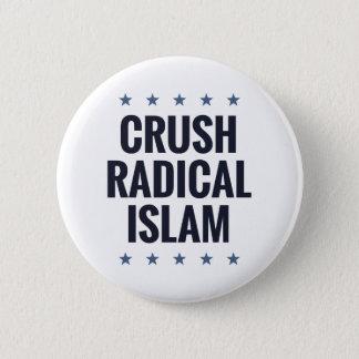 Crush Radical Islam Button