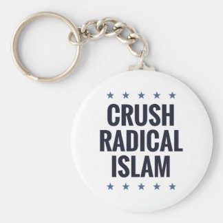 Crush Radical Islam Keychain