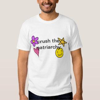 crush the patriarchy tshirt