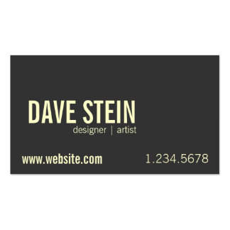 CRUSHED ALUMINUM Double-Sided STANDARD BUSINESS CARDS (Pack OF 100)