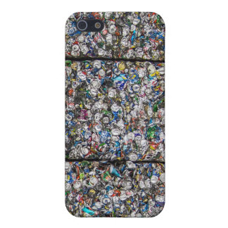 Crushed Cans Savvy iPhone 5 Matte Finish Case