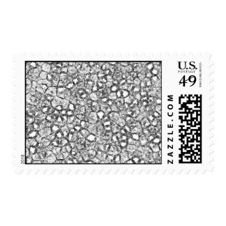 Crushed Crystal Postage Stamps