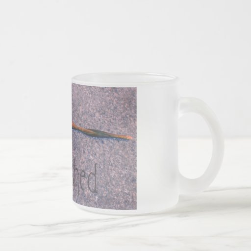 Crushed Frosted Glass Coffee Mug