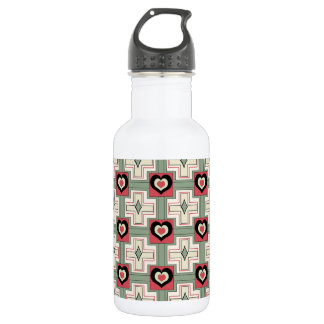 Crushed in the color scheme: Beach Umbrella Water Bottle