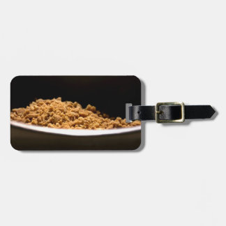 Crushed Peanuts in a bowl Luggage Tags