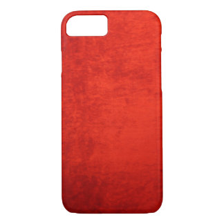 CRUSHED RED VELVET iPhone 8/7 CASE