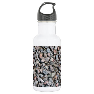 Crushed Rock Texture 18oz Water Bottle