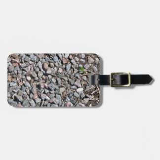 Crushed Rock Texture Tags For Bags
