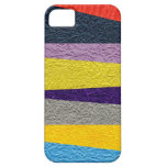 Crushed Strips iPhone 5 Case