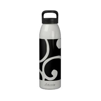 Crushed Velvet Swirls in Pure Bliss Drinking Bottle