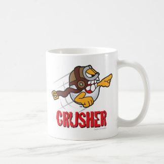 Crusher Cartoon Golf Ball For A Longest Drive Winn Coffee Mug